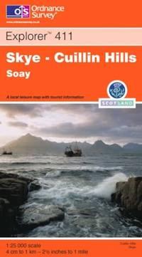 image of Skye: Cuillin Hills - Soay (Explorer Maps)