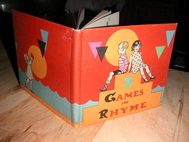 games in rhyme by ethel frank owen first edition