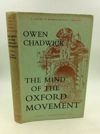 image of THE MIND OF THE OXFORD MOVEMENT