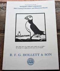 R F G HOLLETT & SON Occasional List 36 Modern First Editions 20th Century Literature and...