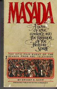 Masada A Novel of Love, Courage and the Triumph of the Human Spirit