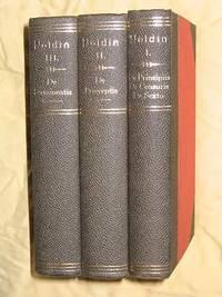 Summa Theologiae Moralis: Three Volume Set - (Vol.1: Index Generalis Totius Operis, De Censuris. De Sexto Praecepto et de Usu Matrimonii. De Principiis. Vol.2: De Praeceptis Dei et Ecclesiae,Vol.3: De Sacramentis.) by  A. Noldin H.(Hieronymus) & Schmitt - Hardcover - Reprint - 1940-41 - from Bookbarrow and Biblio.com