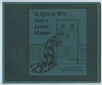 """image of A Quick Wit and a Light Hand"""": Design Movements & Children's Books 1880-1910"""