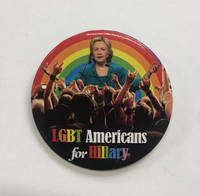 image of LGBT Americans for Hillary [pinback button]