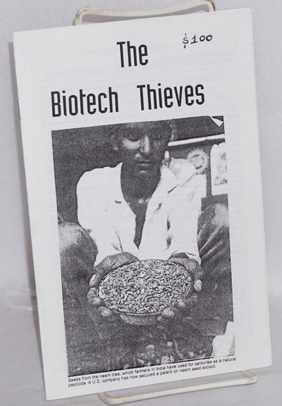 Cambridge, MA: Revolution Books, 2001. , wraps. Pamphlet on biotech patents and exploitation of farm...
