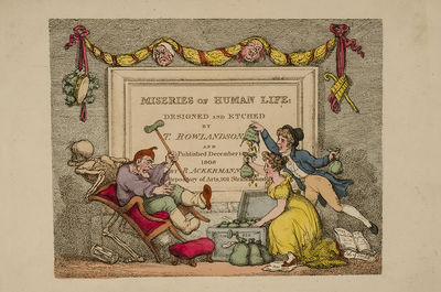 London: R. Ackermann, Repository of Arts, 1808. In the Original Boards Complete with the Rare 'Pall ...