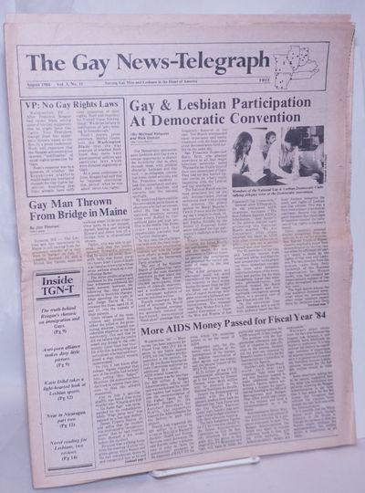 St. Louis, MO: Piasa Pub, 1984. Newspaper. 20p. folded tabloid nespaper, articles, reports, events, ...