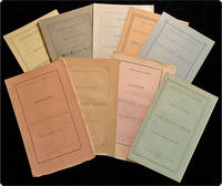 A collection of nine annual reports from the Cincinnati Sanitarium, the Longview Asylum (of Carthage, Ohio), and the State Lunatic Asylum of New York.
