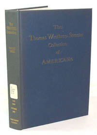 image of The Celebrated Collection of Americana Formed By The Late Thomas Winthrop Streeter (Volume IIi)