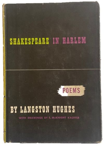 HUGHES, Langston. Shakespeare in Harlem. New York: Alfred A. Knopf, 1947. First edition, third impre...
