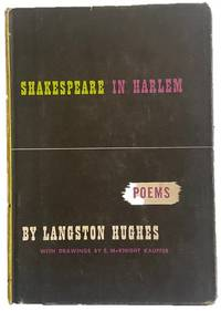 First Edition Shakespeare in Harlem Signed by Langston Hughes
