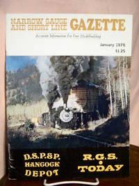 image of NARROW GAUGE AND SHORT LINE GAZETTE - JANUARY, 1976; VOLUME 1, NUMBER 6