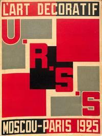 L'Art Decoratif et Industriel de l'U.R.S.S. Decorative and Industrial Art of the USSR