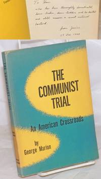 image of The Communist trial; an American crossroads