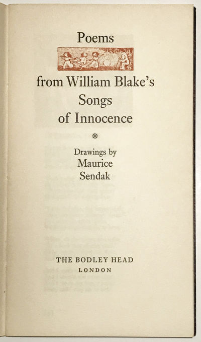 Poems from William Blake's Songs of...