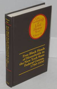 Free black heads of households in the New York state federal census, 1790-1830
