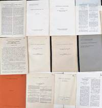 [14 offprints, 1 hand-out, including:] On the Interaction of Elementary Particles. III. Ser. B.