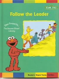 Elmo Presents Follow The Leader  [Hardcover]