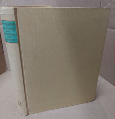 Hildesheim: Georg Olms, 1964. Facsimile Reprint. Hardcover. Octavo; vg/none; yellow cloth spine with...