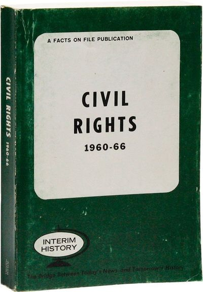 New York: Facts on File, . First Edition. Paperback. Octavo (20.25cm.); original green card wrappers...