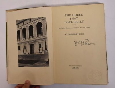 New York: The Haddon Press, 1925. First. Hardcover. VG-. Staining, wear to covers. Ex-library with u...
