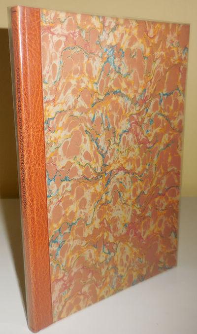 Mt Horeb: The Perishable Press, 1976. First edition. Hardcover. Fine/fine. Hardbound quarto in clear...