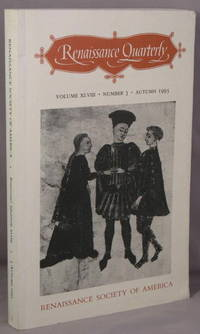 Renaissance Quarterly. Volume XLVIII, Number 3, Autumn 1995