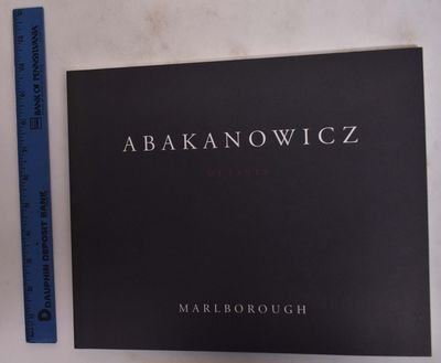 New York: Marlborough, 1997. Paperback. VG. Charcoal gray wraps with white and red lettering. 58 pp....