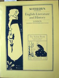 image of English Literature and History Comprising Printed Books, Autograph Letters and Manuscripts...