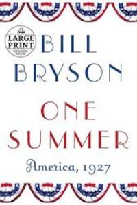image of One Summer: America, 1927 (Random House Large Print)