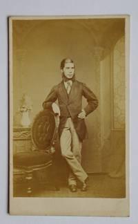 Carte De Visite Photograph. A Studio Portrait of a Young Gentleman.