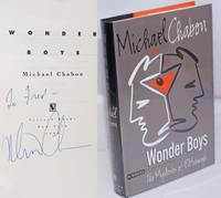 image of Wonder Boys a novel [signed]