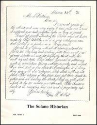 The Solano Historian (Vol. IV, No. 1, May 1988)