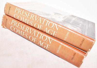 Charlottesville, VA: Preservation Press / University Press Of Virginia, 1981. Hardcover. Good/G. vol...