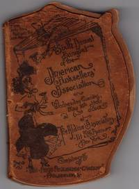 Sixth Annual Banquet of the American Booksellers Association, 1906, Souvenir in Limp Suede Printed Covers.