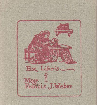 San Fernando, CA: Junipero Serra Press. Fine with no dust jacket. 1993. Limited Edition. Hardcover. ...