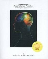image of Vander's Human Physiology: The Mechanisms of Body Function