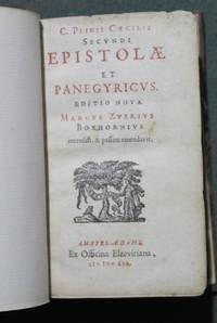 C. Plinii Caecilii Secundi epistolae et panegyricus. Editio nova. Marcus  Zuerius Boxhornius recensuit & passim emendavit