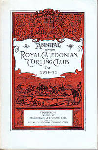 image of Annual of the Royal Caledonian Curling Club for 1970-71
