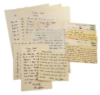 TWENTY AUTOGRAPH LETTERS & POSTCARDS SIGNED BY UNA JEFFERS: 8 Autograph Letters Signed [ALS] & 12 Autograph Postcards signed