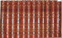 THE WORKS OF WILLIAM SHAKESPEARE. First Edition, Alexander Dyce, 1857. Leather set. Complete in 12 volumes