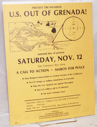 image of Protest the invasion; US out of Grenada! [handbill]