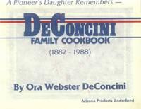 image of DeConcini Family Cookbook (1882-1988)