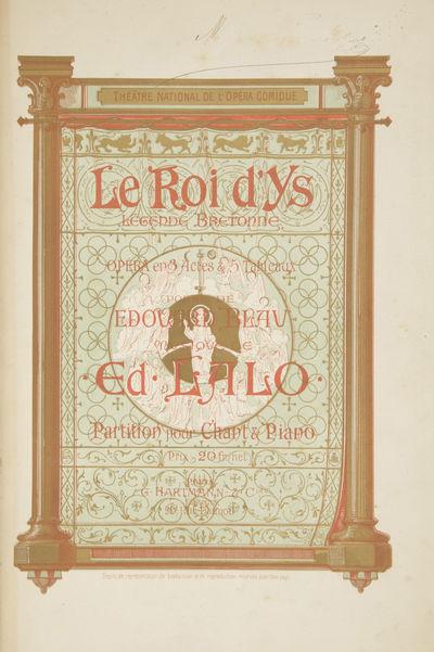 Paris: G. Hartmann & Cie. , 1888. Large octavo. Quarter maroon calf with marbled boards, spine in ru...