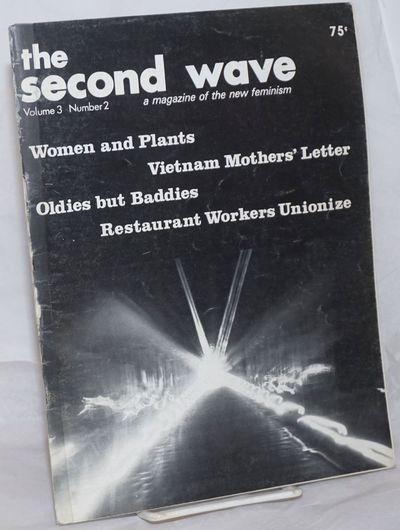 Boston: Female Liberation, 1973. Magazine. 48p., 8.5x11 inches, illustrations, articles, wraps sligh...