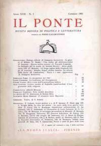 IL PONTE - GENNAIO 1961