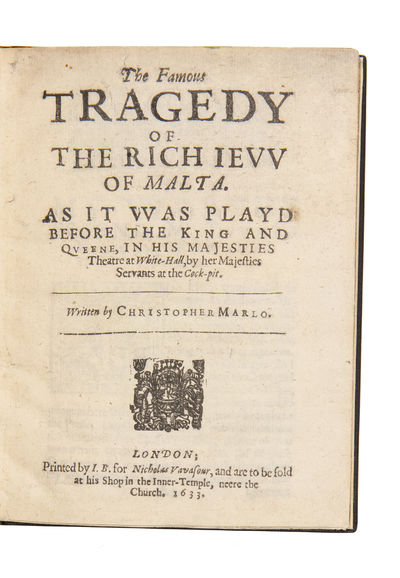 The Famous Tragedy of the Rich Jew...