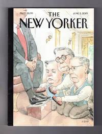 "The New Yorker - June 3, 2019.  Barry Blitt Cover,""The Shining"". Economist on Child Rearing; Salieri's Revenge; Beto O'Rourke; Soccer's Corruption Secrets; Painting Nature (Thomas Cole, Brice Marden)"