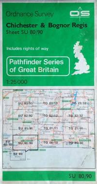 Chichester & Bognor Regis sheet SU 80/90, scale 1:25,000