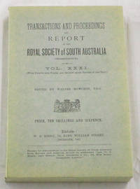 Anthropological Notes on the Western Coastal Tribes of the Northern Territory of South Australia Contained in Transactions and Proceedings and Report of the Royal Society of South Australia Vol XXXI